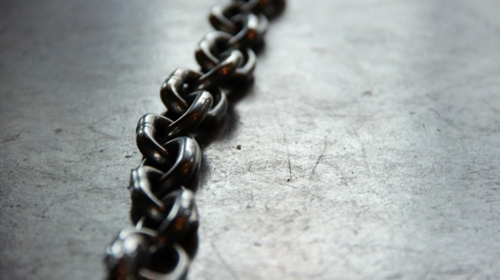 Chains can always be broken